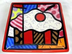 Pop Art Miami is the largest online destination for Pop Art. Buy Pop Art for artists like Romero Britto, Carlos A. Graffiti Painting, Cup Design, Side Plates, Cubism, Artists Like, Pop Art, Vibrant Colors, Artsy, Presents