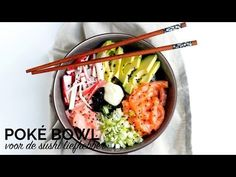 Stop! Ben jij een echte sushi liefhebber?! Dan moet je deze Poké Bowl een keer proberen. Dit is écht waanzinnig lekker!