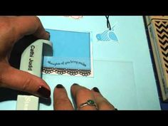 Easy way to bulk up your card stash! - YouTube