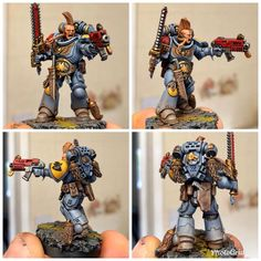 Warhammer 40k Space Wolves, Warhammer Art, Warhammer 40k Miniatures, Warhammer 40000, Rogue Traders, Deathwatch, Fantasy Miniatures, Angel Of Death, Mini Paintings