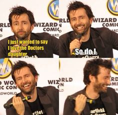 David Tennant <3<3 .. He's Like :D .&. All of Us are Like Awwww... CRAP !!! .. I't Not... {{*sniff*}} . [.me.]