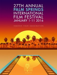 2016 Palm Springs International Film Festival Poster