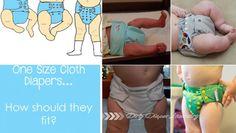 Cloth diaper fit