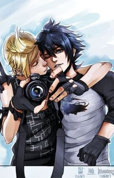 #Promptis #Prompto and #Noctis from #FFXV