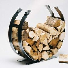 The Unique Large Log Holder Ring Is Hand Crafted In A Traditional Forge Using Old