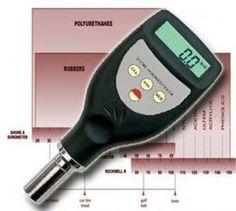 Härteprüfgerät Tester Messer Durometer Shore-A (weicher Kunststoff, Weichgummi, Kautschuk & Elastomeren) HT1