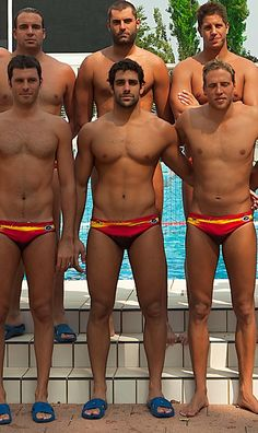 About college guy naked water polo