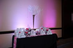 Thank you Janel from Vivid Expressions for designing the pretty candy buffet.