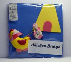 Chicken leaving home Badge https://www.etsy.com/au/shop/LillywitchHollow
