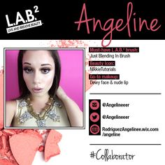 Meet Angeline, one of our new  L.A.B.² colLABorators! Keep up with her blog at http://rodriguezangelinee.wix.com/angeline! #colLABorate
