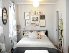 #Trucos para decorar #dormitorios pequeños #decor  http://www.decoblog.es/como-decorar-dormitorios-pequenos/