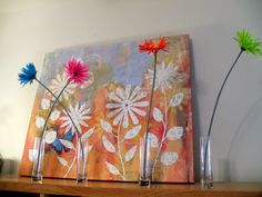 3' by 5' art for sewing studio from Hobby-Lobby