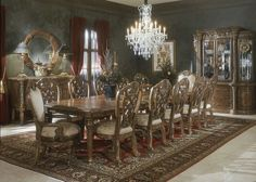10 Amazing Classic Dining Room from Aico - Aico Furniture has been known for more than two decades to produce inspirational dining room