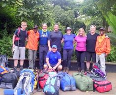 Cambridge Team Scotland, ready for their assault on Mount Kilimanjaro in Tanzania!