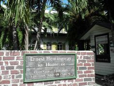 Ernest Hemingway Home Hemingway House, Ernest Hemingway, Key West Vacations, Key West Florida, Ideal Home, Old Town, Places Ive Been, Image Search, Ideal House