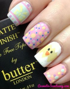 easter #nail #nails #nailart  | Check out http://www.nailsinspiration.com for more inspiration!