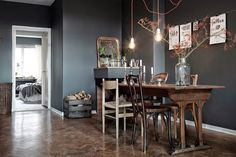 Estilo escandinavo en gris | Decorar tu casa es facilisimo.com