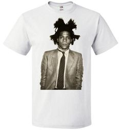 Jean Michel Basquiat Artist Graffiti Icon Art Genius Designer New York City Fashion Street Wear ,v6, FOL Classic Unisex T-Shirt