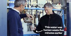 Bill Gates Wants People to Drink Shit Water