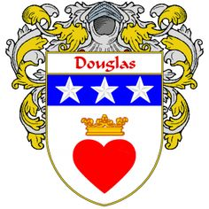 Douglas Coat of Arms   namegameshop.com has a wide variety of products with your surname with your coat of arms/family crest, flags and national symbols from England, Ireland, Scotland and Wale