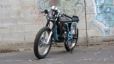 Skyteam Ace, 125 Motorcycle, Bobber Style, Motorbikes, Honda, Motorcycles, Retro, Retro Illustration, Motorcycle