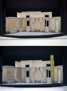 "SET DESIGN for ""Cat On A Hot Tin Roof"" by dunhamke, via Flickr"