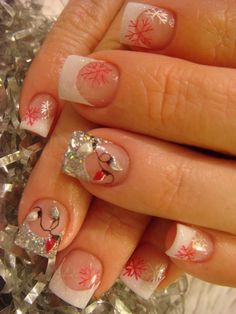Christmas Inspired Nail Art Designs for 2011