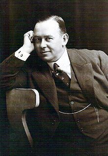 Fred Karno 1918 - theatrical impressario who introduced a number of great British comedians to American audiences.
