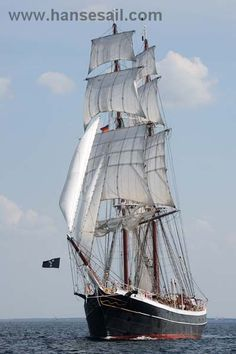 "Tall Ship ""Morgenster"" at Hanse Sail Rostock"