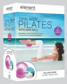 Readers' Choice Awards for the Best Pilates DVDs: Best Pilates DVD - Beginners: Total Body Pilates with Mini Ball - Lisa Hubbard