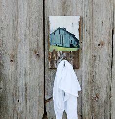 Old Farmhouse Barn - Wall Hook / Coat Hook / Key available from KnickofTime on Etsy