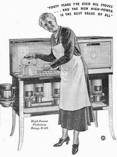 Perfection Oil Stove ad by katinthecupboard, via Flickr