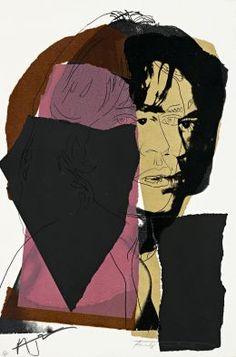 Andy Warhol MICK JAGGER 1975