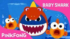 Baby Shark Wearing a Dinosaur Costume!   Animal Songs   PINKFONG Songs f...