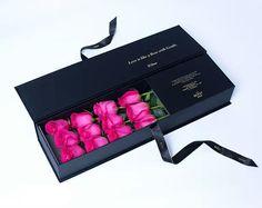 Black rectangular ribbion closure flower gift box,Whatsapp:008615018260619 Closure, Box, Flowers, Gifts, Black, Snare Drum, Presents, Black People, Favors