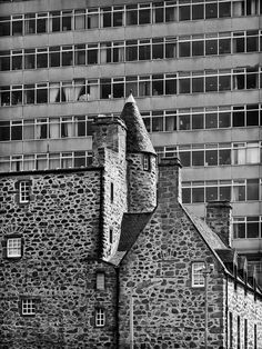 Aberdeen: the century Provost Skene's House next to St Nicholas House, council offices which are slated for demolition. Aberdeen Scotland, Places In Scotland, My Family History, Saint Nicholas, Interior Architecture, Interior Design, Abandoned Buildings, 15th Century, Island
