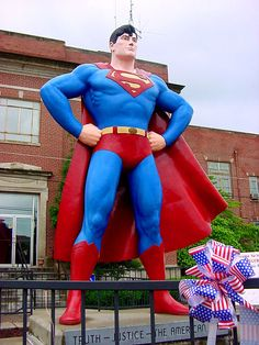 Illinois: Superman Museum ~ Metropolis, Illinois
