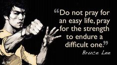 This is another great Bruce Lee quote!