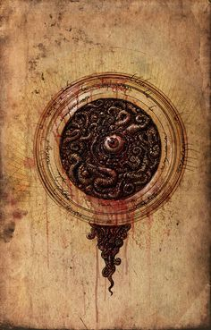 Lovecraft art by Francois Launet.