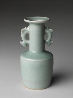 Vase with Dragonfish Handles | China | Southern Song dynasty (1127–1279) | The Metropolitan Museum of Art