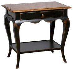 Lamp Table traditional nightstands and bedside tables