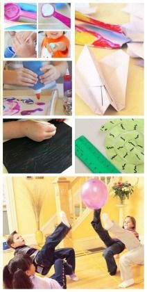 20 Activities for 5-year-olds ---> great ideas for things you can do at home with things you already have!