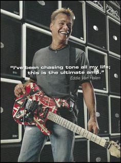Eddie Van Halen EVH 5150 III guitar amp 2007 advertisement 8 x 11 ad print Eddie Van Halen, Alex Van Halen, Rock Music, New Music, Van Halen 5150, Guitar Magazine, David Lee Roth, Music Pics, Emotion
