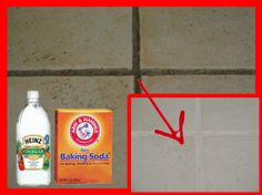 How To Naturally Clean Grout and Tiles{ Clean those Dirty Tiles Make It Sparkle For That Special Event : You Absolutely Must Try this}