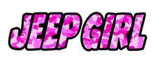 2x Jeep Girl Camo Camouflage Pink Sticker LAMINATED Aufkleber Autocollant Pegatinas digital Print Truck Car Renegade Windows Notebook by Artgraphixx on Etsy