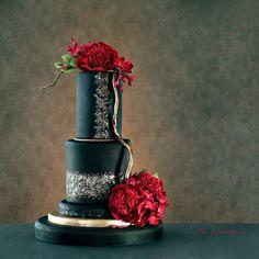 Red peony | da Neli Josefsen (Nelka)