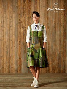 【SS14 WOMAN】カモフラージュ デニムドレス CAMO DENIM DRESS |Collection|ナイジェルケーボン|Nigel Cabourn 公式サイト