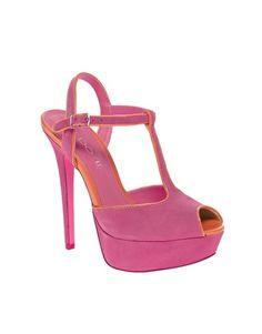 ALDO Detamble T-Bar Platform Sandals-pretty T-strap!