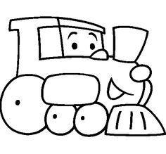 Land Transportation Coloring Pages For Kids