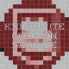 KnightCite Citation Service